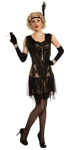 Adult Lacy Lindy Roaring 20's Flapper Costume - Candy Apple Costumes - New Costumes for 2014