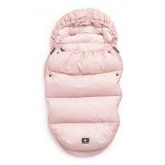 Puchowy śpiworek do wózka Elodie Details, różowy