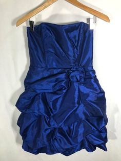 840ab0f38 Teeze Me Royal Blue Rouched Strapless Prom Formal Homecoming Party Dress  #fashion #clothing #