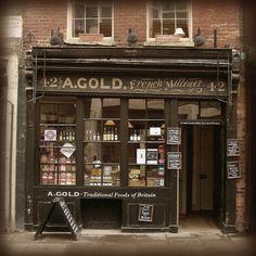 Old shop, Spitalfields, London   by seriykotik1970, via Flickr