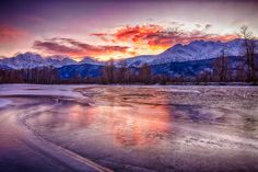 Chilkat River Valley at Sunset by Ron Doebler on 500px