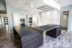 Steve Gray Renovations Kitchen featuring Miele appliances, and Italian Cabnets.