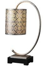 Love the shade on this accent lamp!  Vanity, perhaps? #HomeDecorators