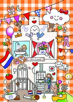 Ansichtkaart Holland Postcrossing