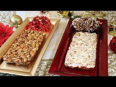 RECETAS DE TURRON DE ALICANTE Y GUIRLACHE - YouTube Paella, Dessert, Waffles, Menu, Favorite Recipes, Cheese, Breakfast, Candy Bars, Youtube