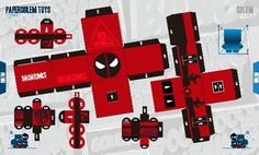 Portafolio Juan Camilo @GolemCreative  #Papertoy #Design #Art #Comic #Deadpool #GraphicDesign #Tribute #Toys #Portfolio