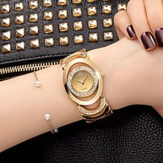 Luxury Women Watch Famous Brands Gold Fashion dress Design Bracelet Watches metal watch bracelets Relogio Femininos
