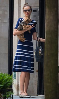Miranda Kerr wears Pretty Ballerinas