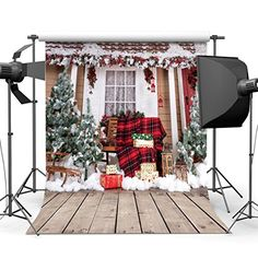 Yeele Christmas Photography Backdrop 10x8ft Colorful Christmas Stockings Background Xmas Party Decor Kids Adults Portrait Photo Booth Photoshoot Props Wallpaper