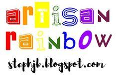Stephanie Jane: Artisan Rainbow - Tote Bags