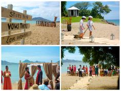 Happily Ever After Starts Here... Congratulations Sita and Rory! #Nevis #wedding #romance #beach #Caribbean