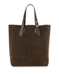 TOM FORD Men s Suede Tote Bag 87c623b6cbfb1