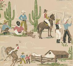 Cowboy wallpaper for kids - photo#13