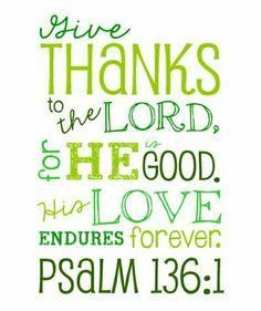Ps. 136:1