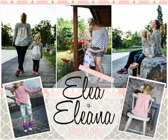 """""""Elea + Eleana"""" Tunikashirt Kombi-Ebook von Gr. 74 bis 170 und 32 bis 48 ♥ - rosarosa"""