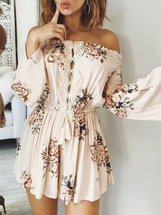 Off Shoulder Outfits For You To Look Fabulous 16 Latest Fashion For Women, Teen Fashion, Boho Fashion, Fashion Outfits, Womens Fashion, Fashion Design, Fashion Trends, Cheap Fashion, Fashion Ideas