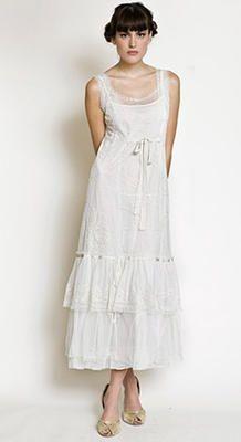 40013 Nataya 1920s Dress in Ivory | Nataya. Vintage style gown for petite ladies