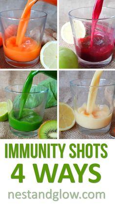 Immunity Boosting Shots #paleo #vegan #glutenfree