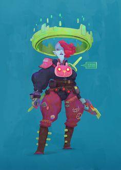 """""""Characters"""" by Dani Diez (danidiez.com)"""