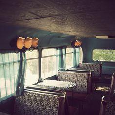 coffee shop in a double decker bus by xt_marie, via Flickr