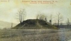 Giant skeleton is buried in a mound in Charleston, West Virginia with four attendants who were sacrificed for the burial