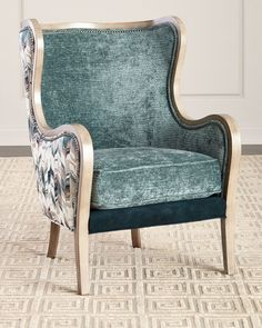Shop Sandrino Leather Wing Chair at Horchow, where you'll find new lower shipping on hundreds of home furnishings and gifts. Wing Chair, Sofa Chair, Swivel Chair, Bergere Chair, Chair Pads, Upholster Chair, Chair Reupholstery, Chair Drawing, Outdoor Dining Chair Cushions