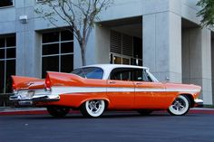 1957 Plymouth Belvedere - our family car