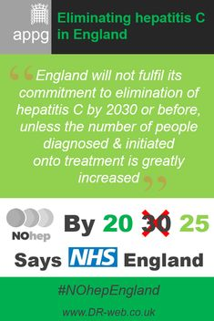 '#England will not fulfil its commitment to elimination of #hepatitis C by 2030 or before unless the number of people #diagnosed & initiated onto #treatment is greatly increased' #hepatitis#HepC #HCV #NOhep #NOhepEngland