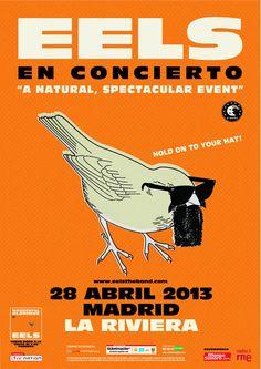 EELS, Madrid 2013 http://www.livenation.es/artist/eels-tickets?c=PIN_WP_eels_130313
