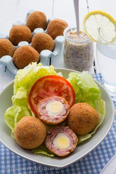Mi toque en la cocina: Huevos a la escocesa.
