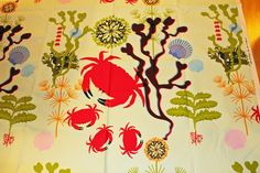 IKEA crab fabric A REPEAT by maili on Etsy