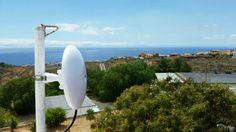 nanoBeam M19 sesión fotográfica en instalación #WiFiCanarias #AirInternet en Candelaria #Tenerife #ubiquiti 1/2 @ubnt