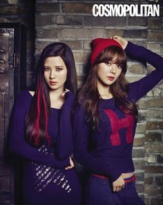 Girls Generation's Seohyun and Sooyoung