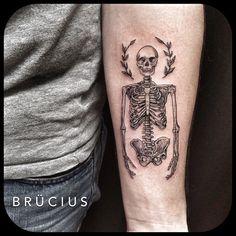 Acacia Skeleton Arm tattoo