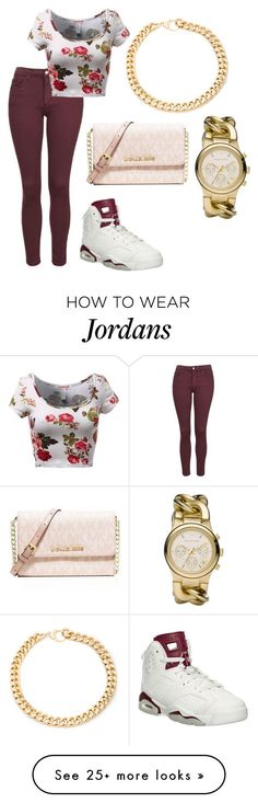 """""""Untitled #169"""" by thefemaletupac on Polyvore featuring Topshop, MICHAEL Michael Kors, Alessandra Rich, Michael Kors, women's clothing, women's fashion, women, female, woman and misses"""