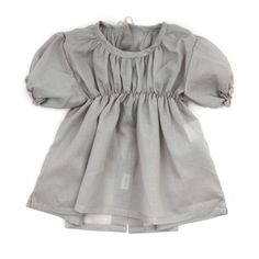 An adorable baby blouse that can be easily made from scratch.