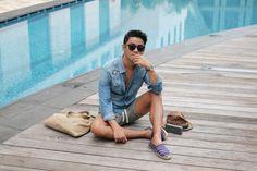 Resort dressing at its finest. Ootd Poses, Resort Dresses, Manila, Dressing, Menswear, World, How To Wear, Fashion, Moda