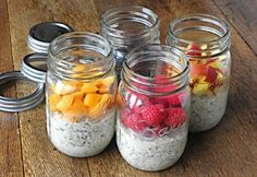 Breakfast- Overnight Oatmeal
