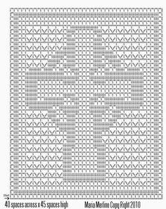 Lords Prayer Filet Crochet Pattern Free Patterns