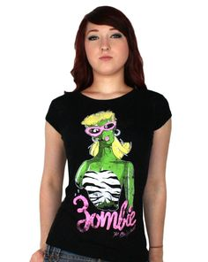 Burnout Babydoll - Zombie Barbie. $25. Coming Summer 2012.