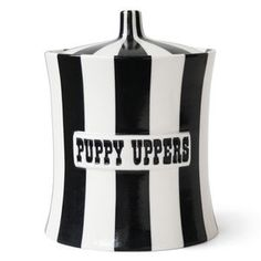Boxes & Canisters - Puppy Uppers Canister