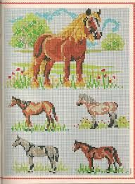 Resultado de imagem para grafico de ponto cruz animais Cross Stitch Horse, Cross Stitch Animals, Cross Stitch Charts, Cross Stitch Patterns, Cross Stitching, Cross Stitch Embroidery, Horse Christmas Ornament, Filet Crochet Charts, Horse Pattern