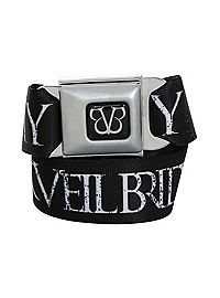 HOTTOPIC.COM - Black Veil Brides Army Seat Belt Belt