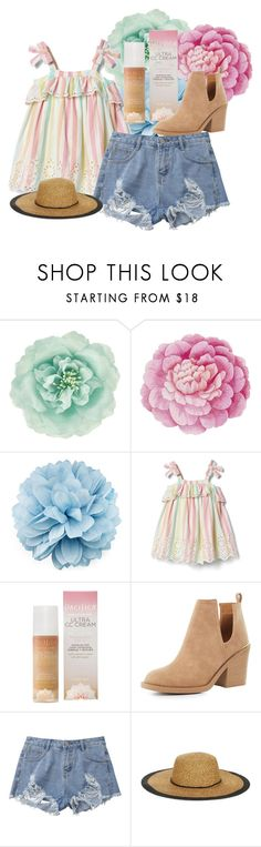 """""""happy and bright"""" by ddanyelle on Polyvore featuring Monsoon, Ballard Designs, Gucci, Pacifica, Qupid, Genie by Eugenia Kim and Govegan"""