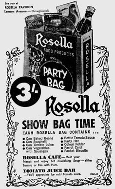Rosella Show Bag time!