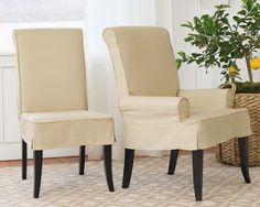 QuickCover Harlow Stretch Dining Chair Slipcover By
