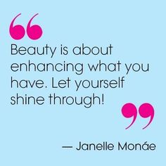 Janelle Monáe in Teen Vogue's Dec/Jan Beauty Spa Quotes, Salon Quotes, Hair Quotes, Makeup Quotes, Botox Quotes, Hair Sayings, Life Quotes, Monday Quotes, Wellness Quotes