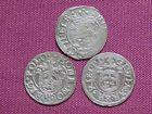 3 Coins of Sigismund III Vasa, Poland, Poltorak (1/24 Thaler), 1587-1632,(EF VF) - http://coins.goshoppins.com/medieval-coins/3-coins-of-sigismund-iii-vasa-poland-poltorak-124-thaler-1587-1632ef-vf/