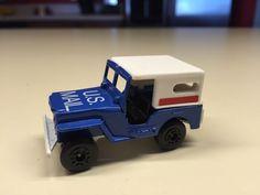 1976 MATCHBOX SUPERFAST #15 US United States Mail Truck Post Office Diecast #Matchbox
