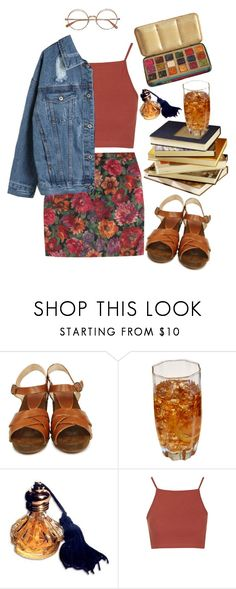 """""""so long, marianne (tag)"""" by celluloid ❤ liked on Polyvore featuring BOSABO, Public Library and Topshop"""